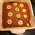 Brownies a la banane