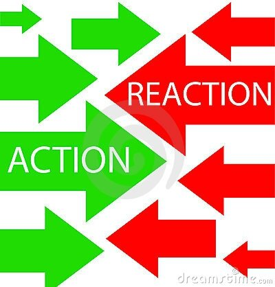 action-and-reaction