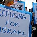 Soixante jeunes annoncent leur refus de servir dans l'armée israélienne