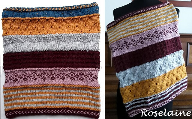 Roselaine GAME CHANGER COWL by Marly Bird 2