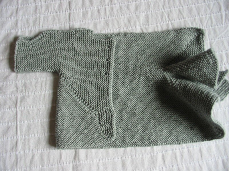 baby surprise jacket-demi-pliée