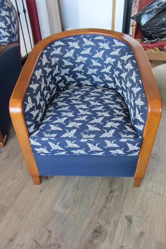 tissu casal côté sièges