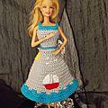 Barbie au bord de mer