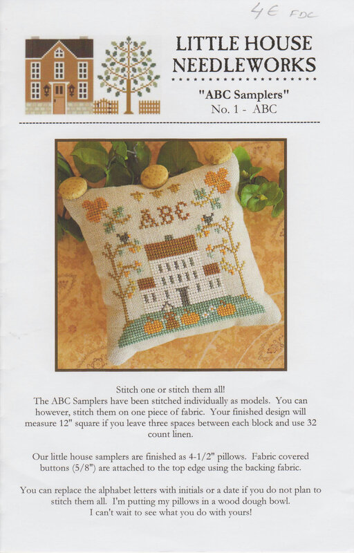 abc sampler ABC LITTLE HOUSE NEEDLEWORK 001-1