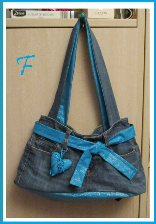 sac marie jeans entier