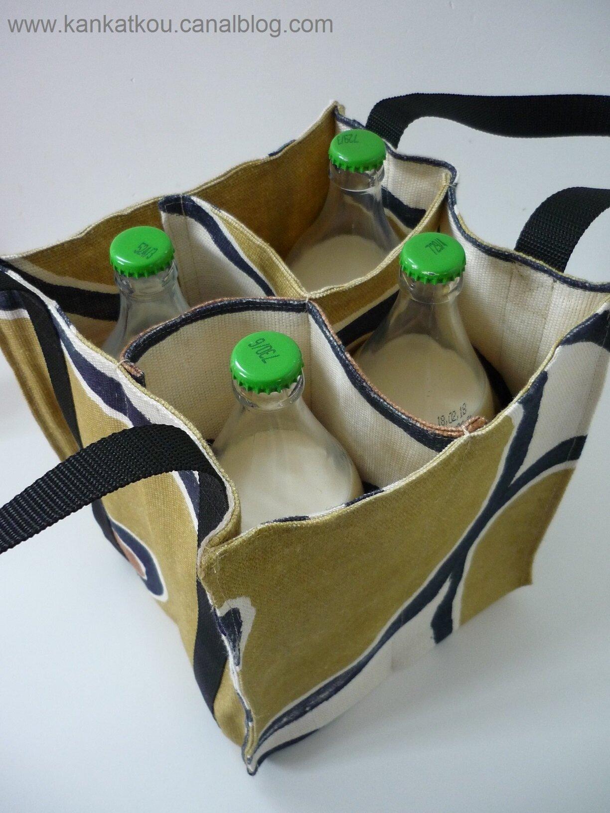 Le sac à bouteilles