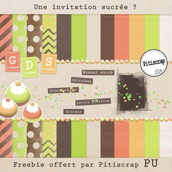 Une invitation sucrée preview