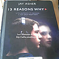 Mes lectures #16 - 13 reasons why
