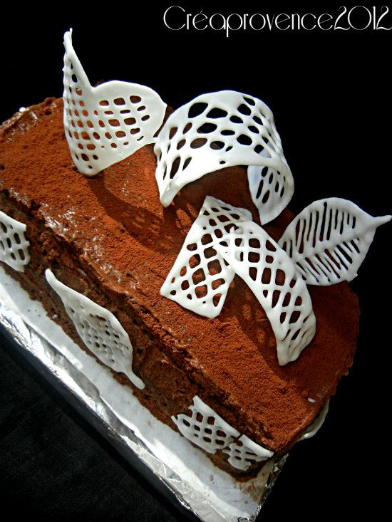 Dulce Chocolate Gateau Au Chocolat Ultra Gourmand Decoration