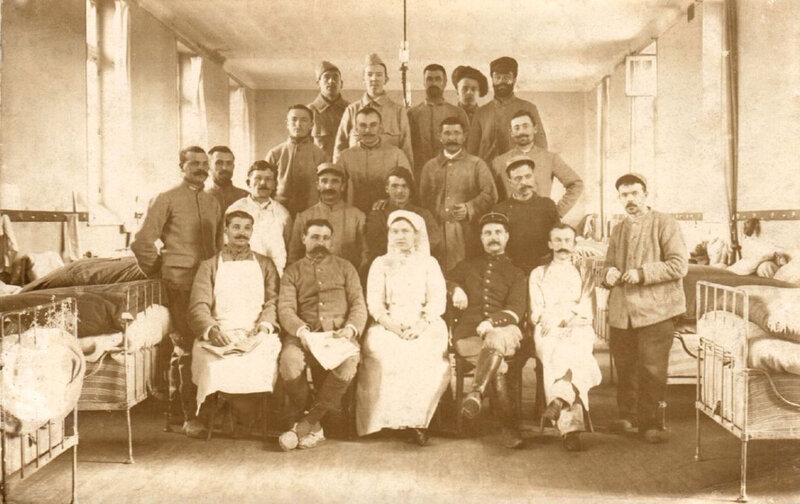 Abbeville, hôpital pendant la guerre (1)