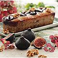 Cake figues, noix, chèvre...un régal!