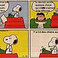 Snoopy écrit