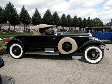 ROLLS ROYCE Phantom I Piccadilly Roadster 1927 Classic Gala de Schwetzingen 2009 2