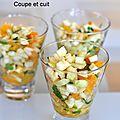 Salade croquante orange et fenouil