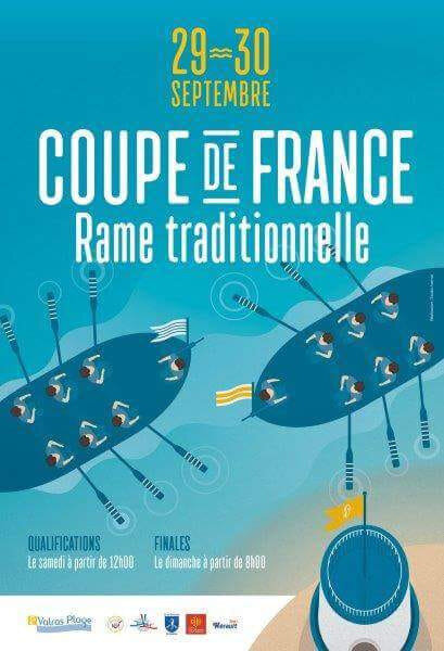 RAME TRADITIONNELLE - Coupe de france + tirage
