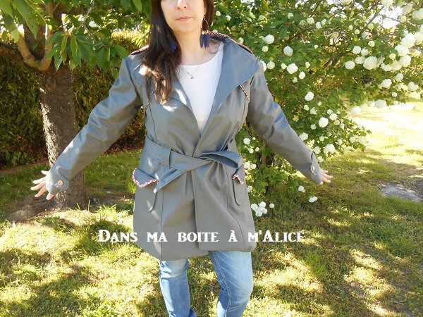 DmBamA - Tricot couture point de croix 18-5