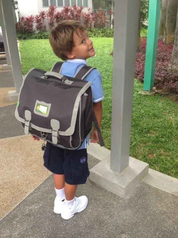 Dorian à l'école
