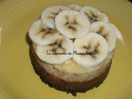 Cheesecake Bananes sur lit de Granola noix de coco copy