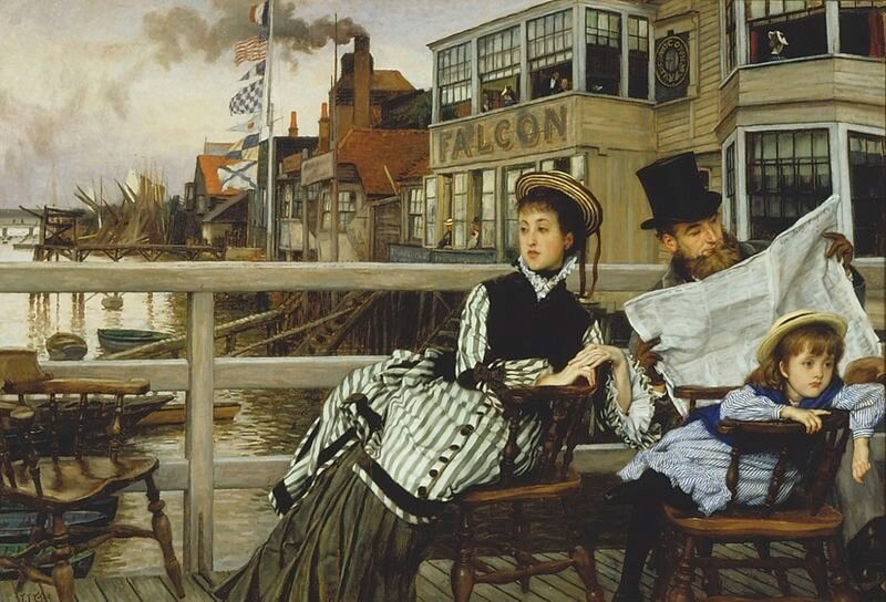 James_Tissot_-_Waiting_for_the_Ferry_at_the_Falcon_Tavern