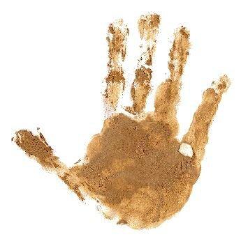 main de la terre