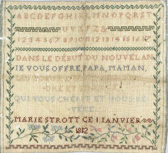 Marie Strott 1812