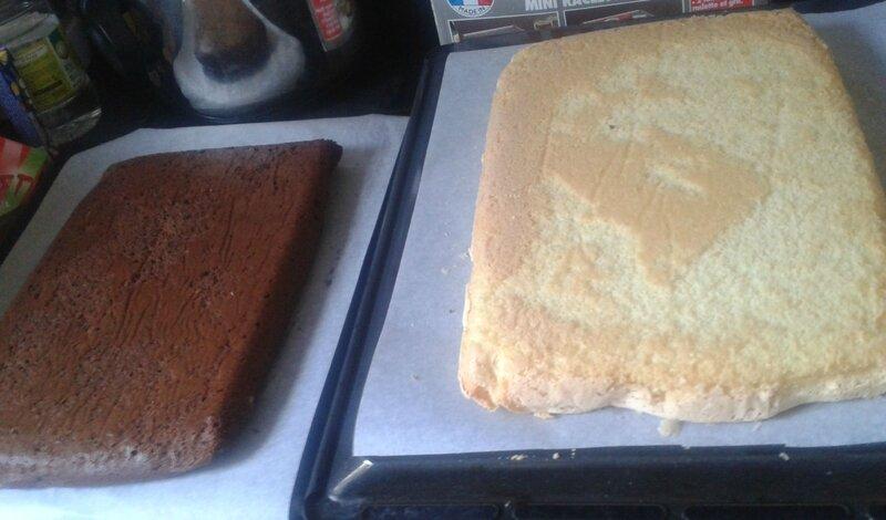 gâteau avant