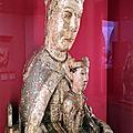 Le musée frédéric marès, les vierges à l'enfant romanes