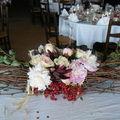 La déco de la table des mariés