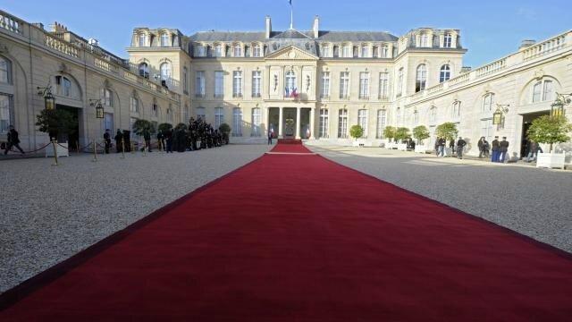 Elysée tapis rouge