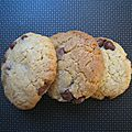 Biscuits fondants aux pépites de chocolat (à base de jaunes d'œuf)