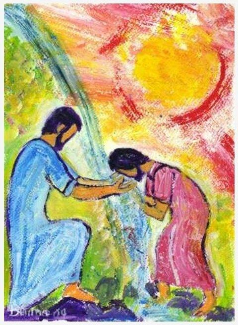 La Samaritaine et l'eau vive