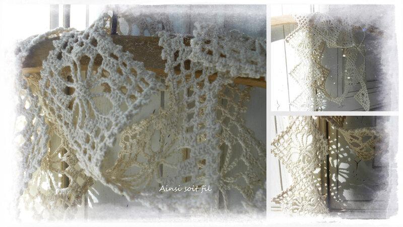 Echarpe au crochet 1