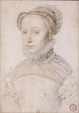 Portrait dit d'Elisabeth de France, BnF