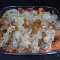 Gratin de crozets à la butternut et gorgonzola