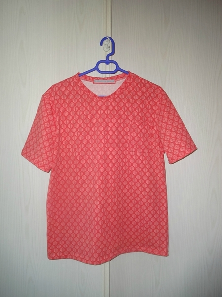 Tshirt hercule orange 1