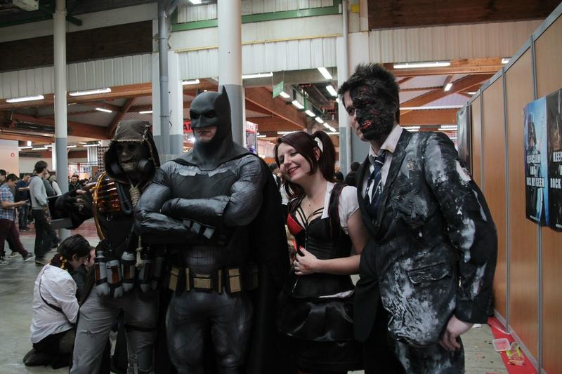 Cosplay DC Comics (Batman, Two Faced...)