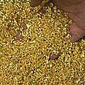 Purchase of gold powder and bullion