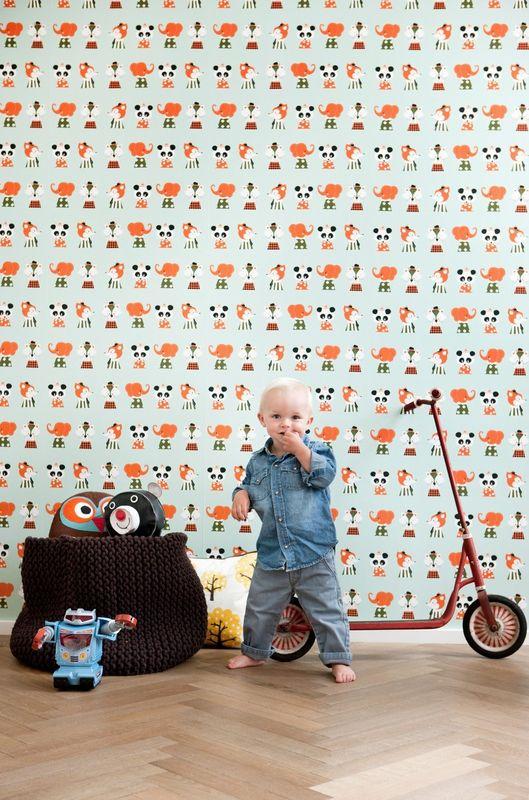 papier peint pour chambre d 39 enfant entre cha et ra. Black Bedroom Furniture Sets. Home Design Ideas