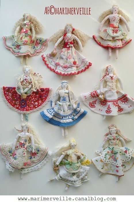 poupées de chiffons marimerveille