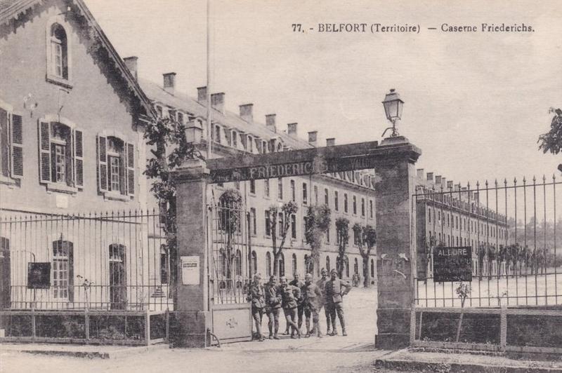CPA Belfort Caserne Friederichs