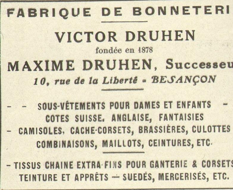 druhen publicité 1923