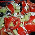 Salade paysanne grecque