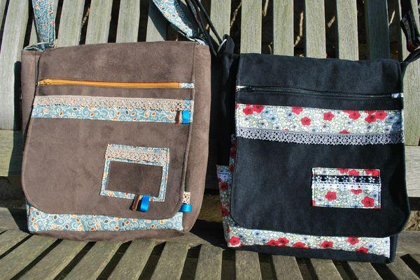 sac beasace marron et noir 001