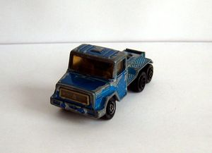 Camion Magirus de chez Majorette au 1