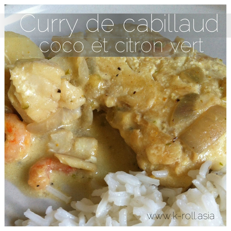 K-roll - Curry cabillaud