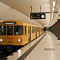 Berlin : lancement d'études pour étendre le métro