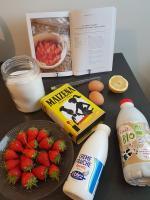 cathytutu fraises Cléry francaise chantilly diplomate patissiere limoncello la maison du citron de menton to - Cop (