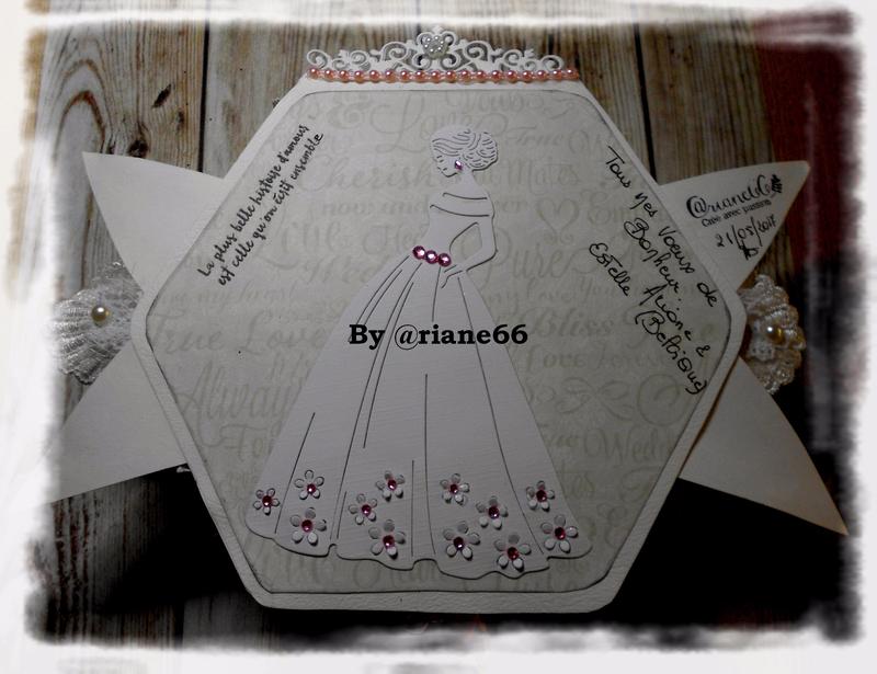 Carte noeud Mariage fille de Marianne Arrière 012