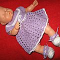 Vêtement pour poupée 30cm
