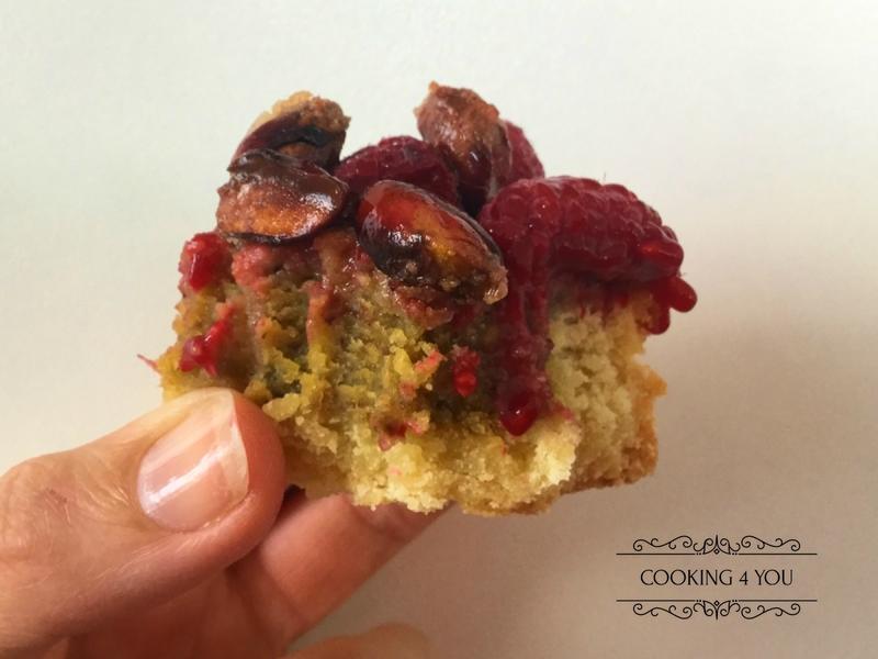 Tarte framboise pistache 041